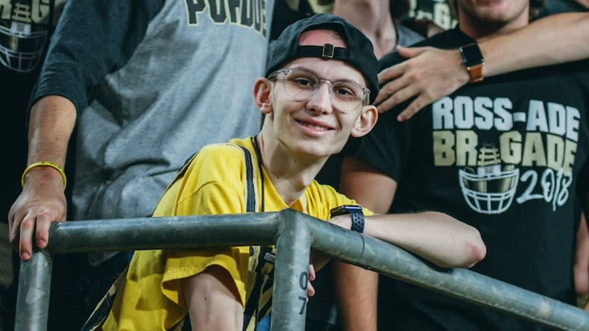 Purdue football family fighting for super-fan