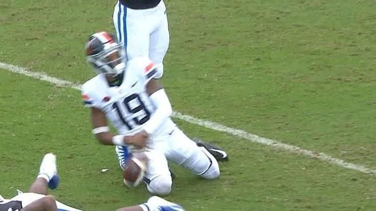 UVA player acts his way to flag with major flop