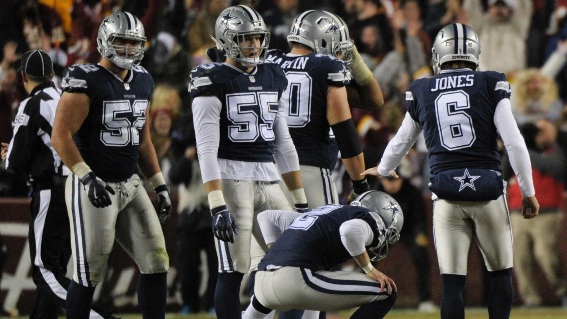 Maher's FG bangs off upright as Cowboys lose