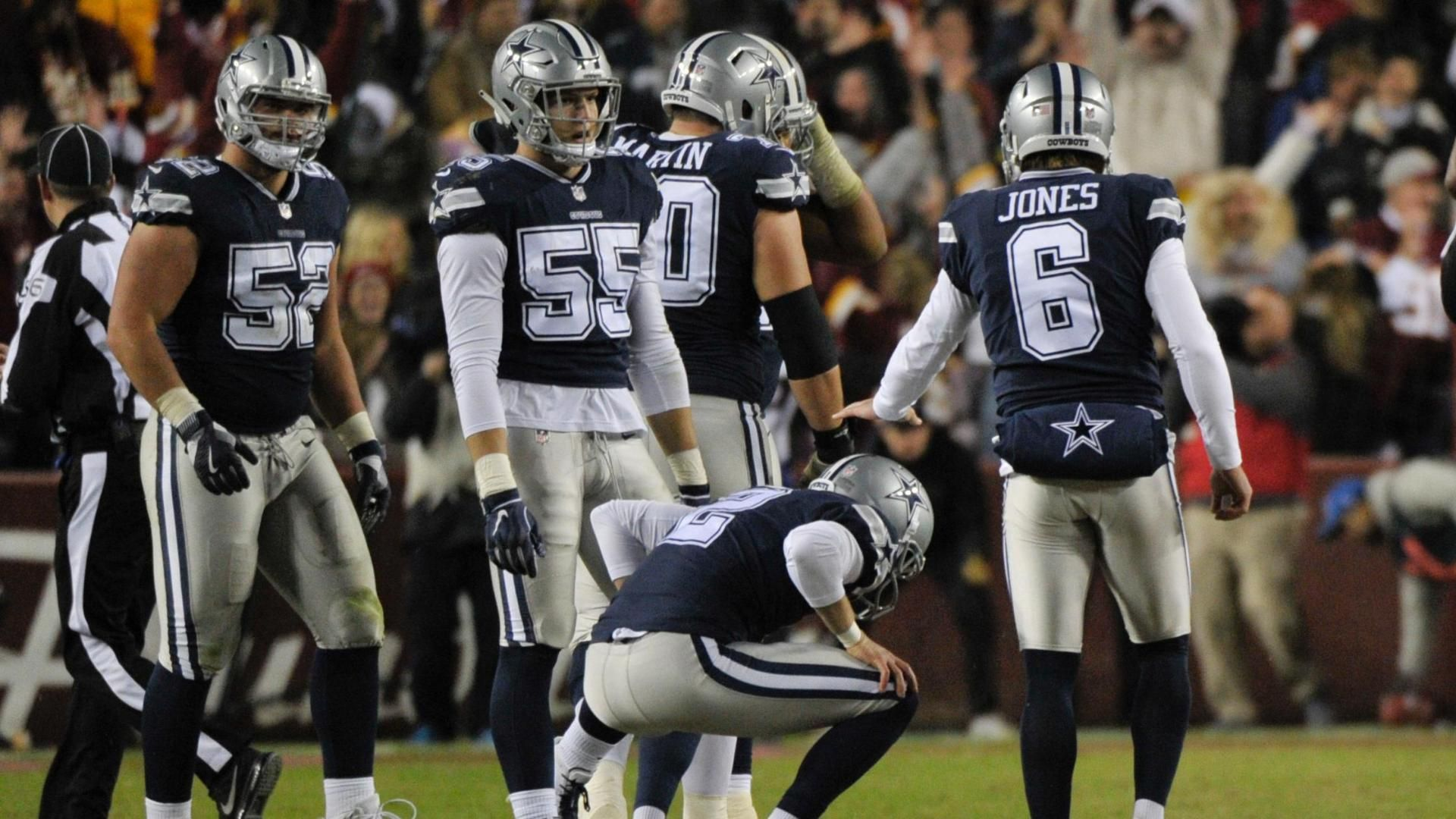 Maher's FG bangs off upright as Cowboys lose<br>