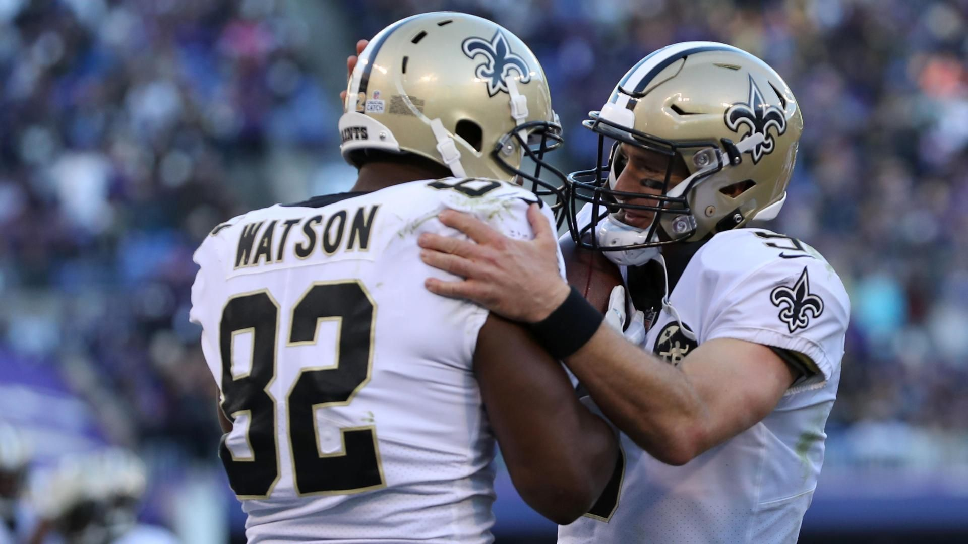 Brees throws 500th career TD pass