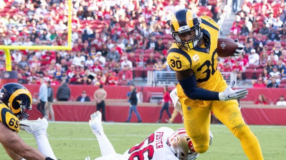 Gurley notches 3 TDs in Rams' win