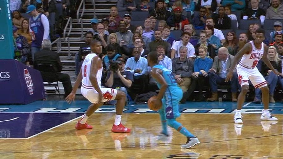 Kemba's 30 points charge Hornets' blowout win
