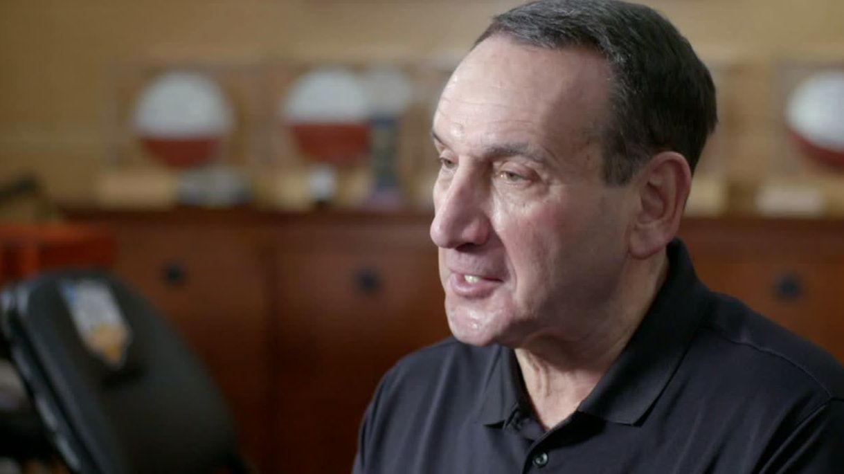 Coach K teaching student athletes to 'Earn Everything'