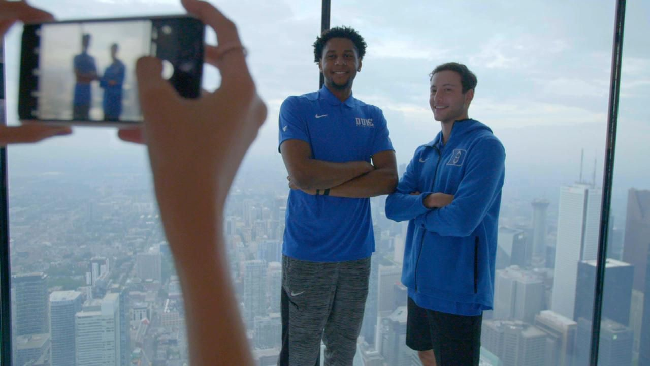 Duke takes team building to the next level at CN Tower
