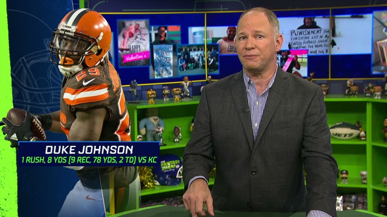 Berry: Duke Johnson benefits from OC change in Cleveland