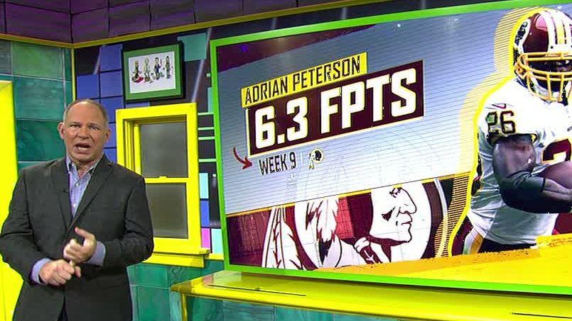 Redskins' injuries lower AP's fantasy value
