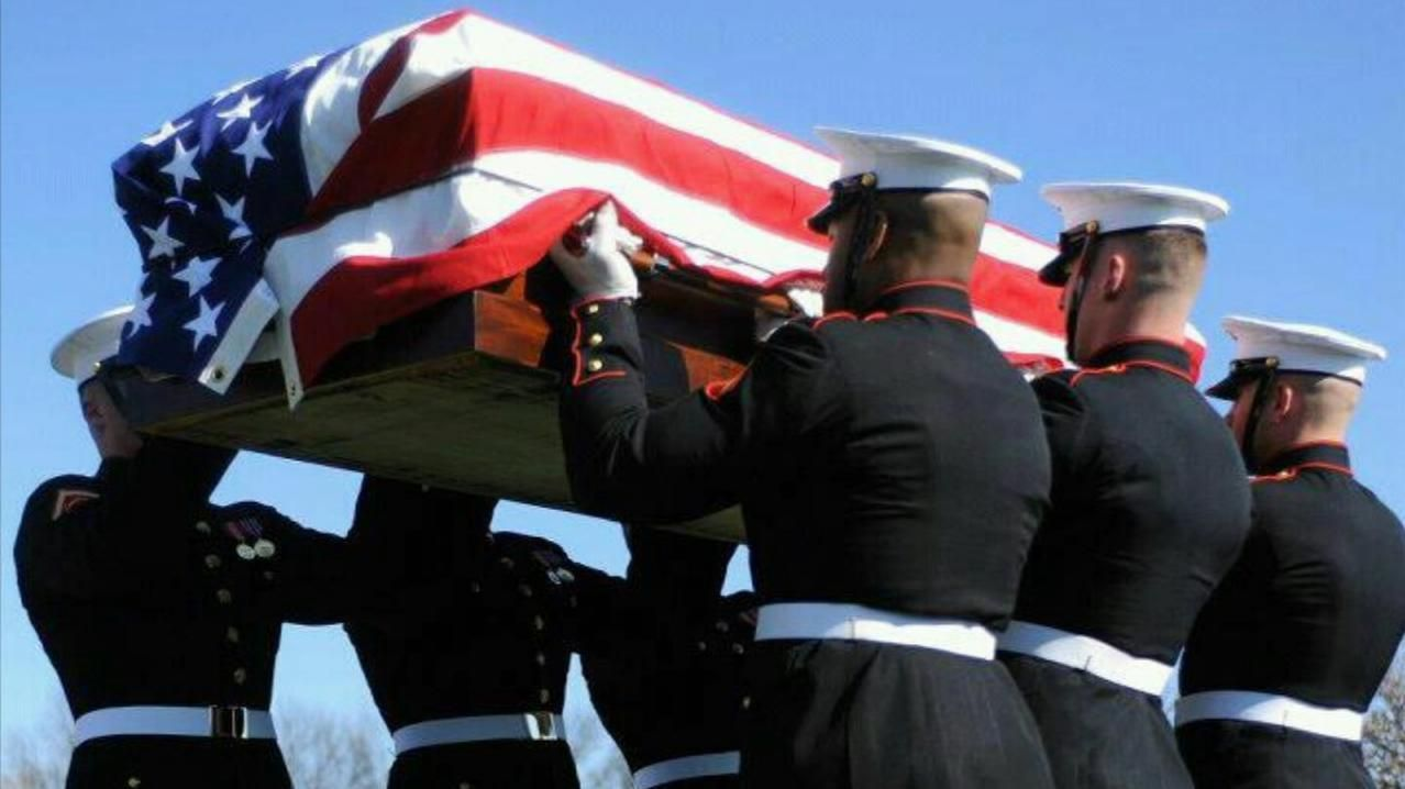What it means to be a United States Marine Corps Body Bearer
