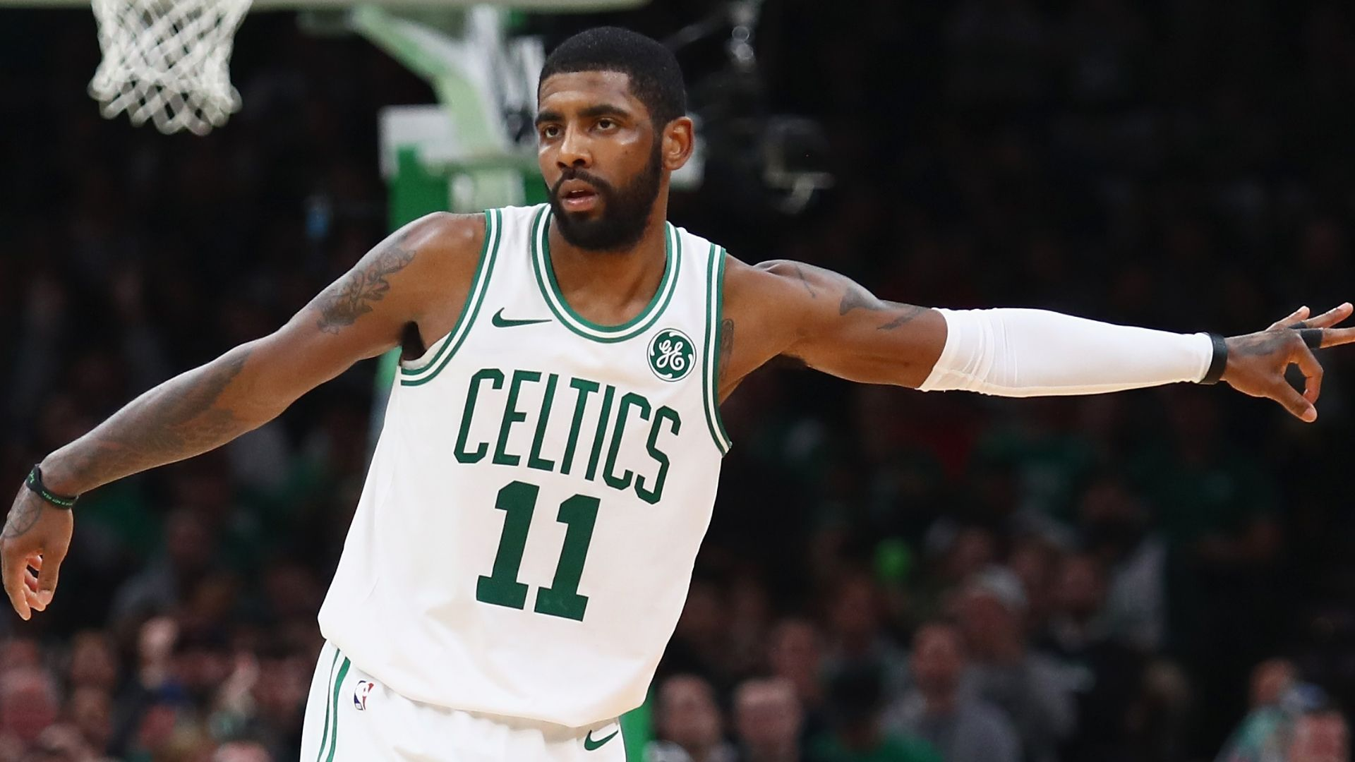 Kyrie drops 43 in OT win for Celtics