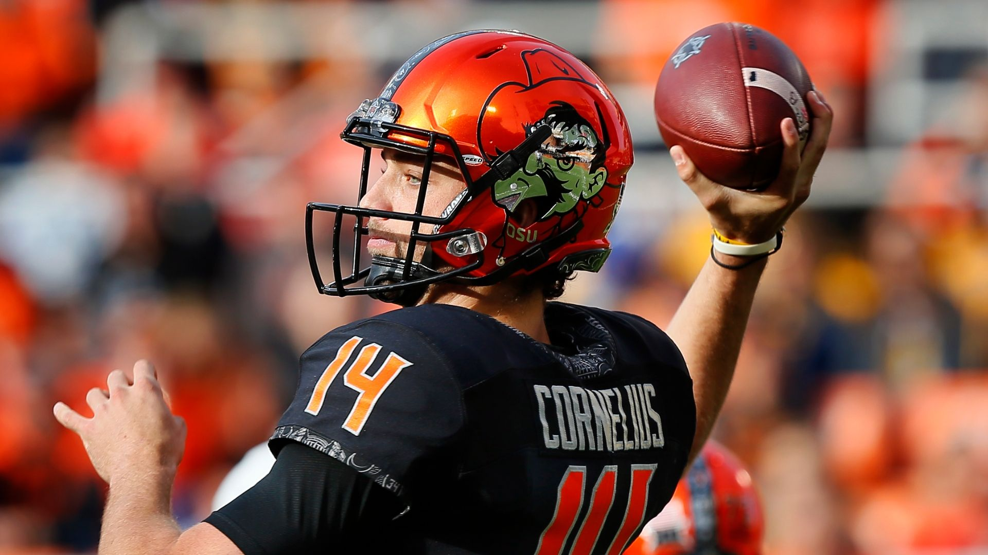 Cornelius leads OK State to upset win over No. 9 WVU