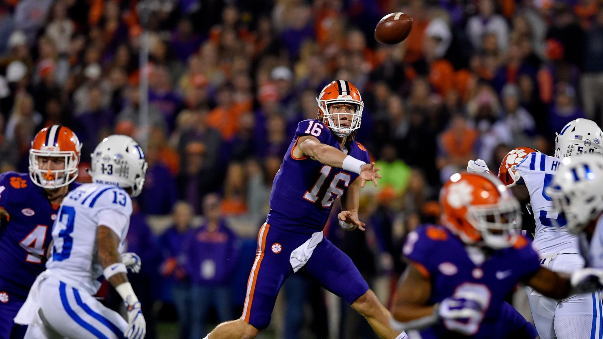Clemson overcomes slow start to beat Duke