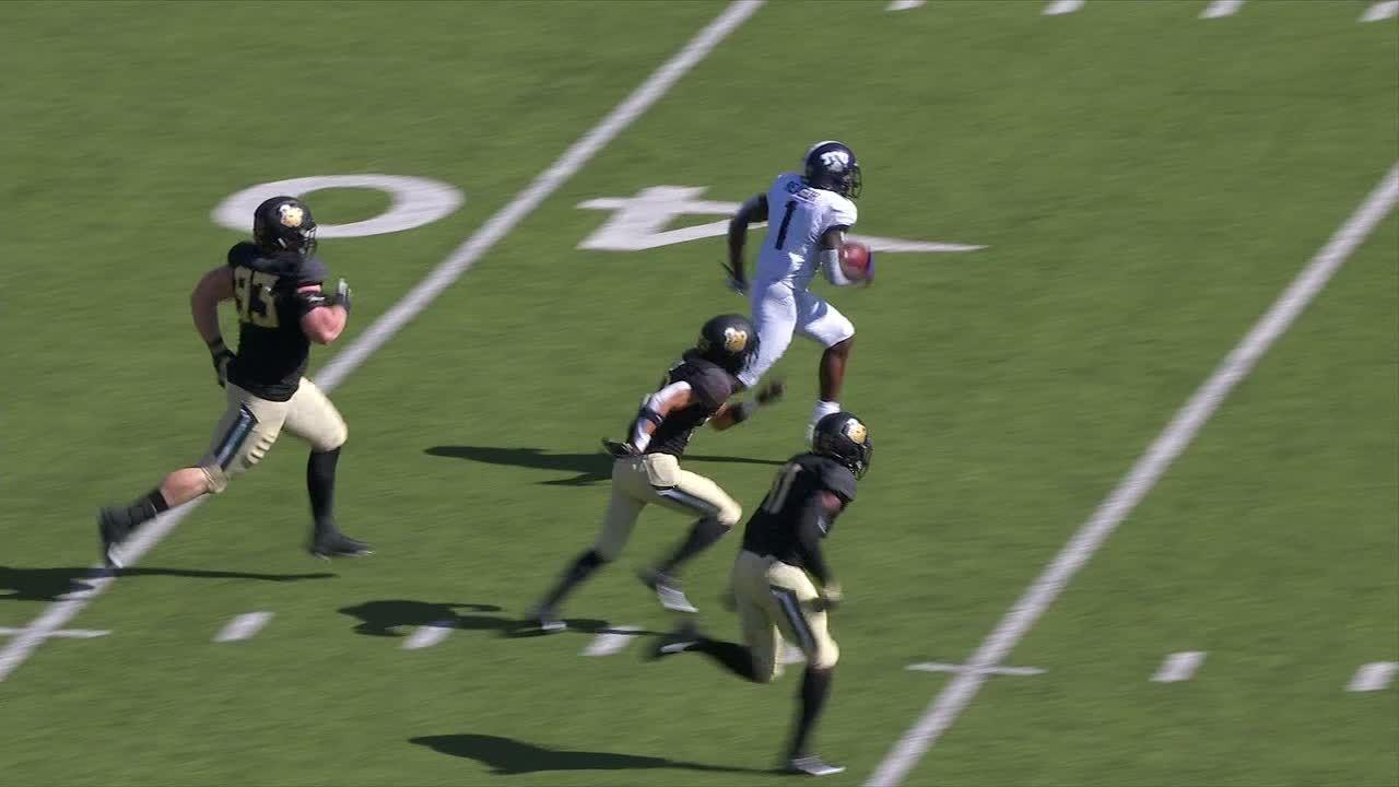 Reagor carves Baylor's defense for 65-yard TD