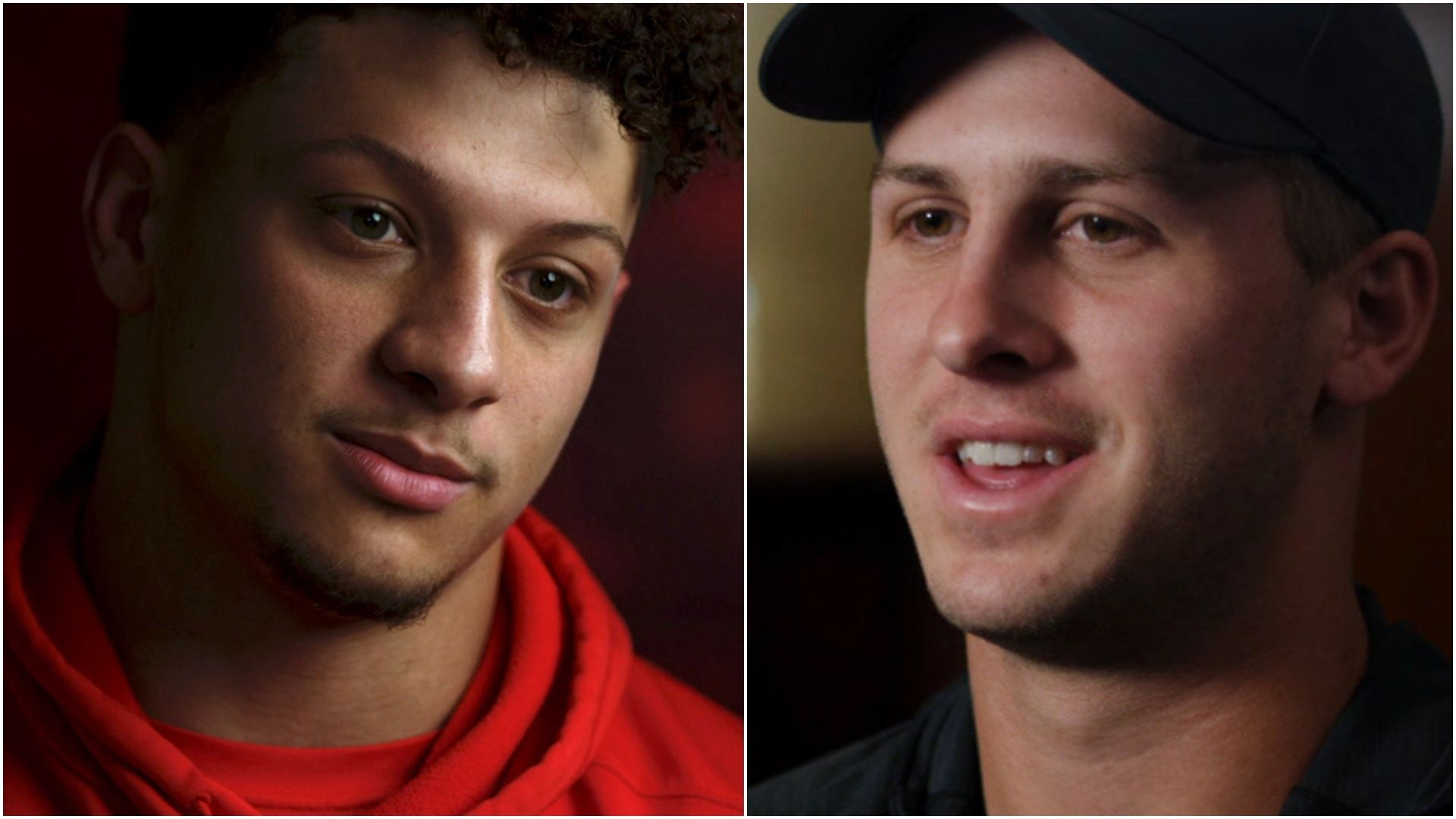 Mahomes and Goff open up about their high-powered offenses