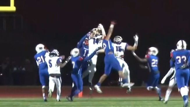 Hail Mary caps off wild High School championship game