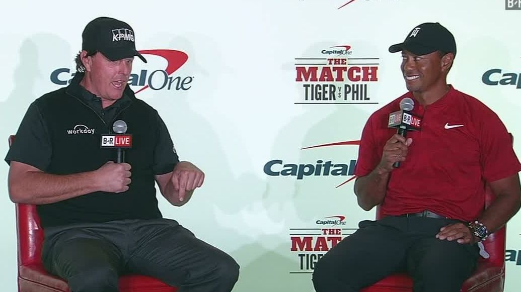 Tiger and Phil set $200k side bet