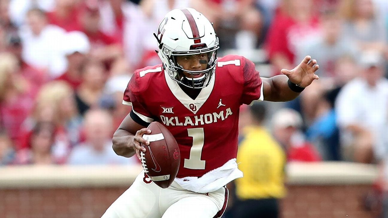 Oklahoma's Murray cemented in Heisman conversation