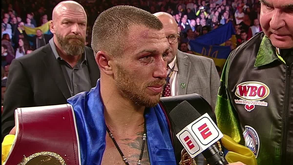 Lomachenko eyes unification bout vs. Mikey Garcia