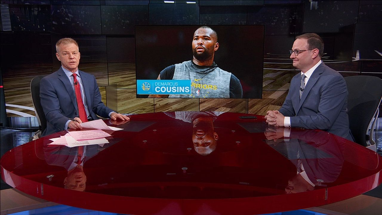 Wojnarowski: Warriors being patient with Cousins