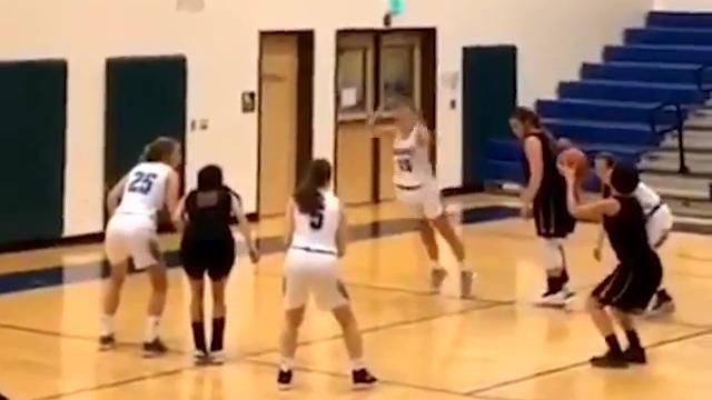Player falls face first on free throw