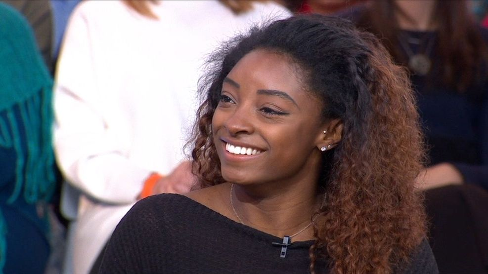 Biles finding her voice after dominant 2018