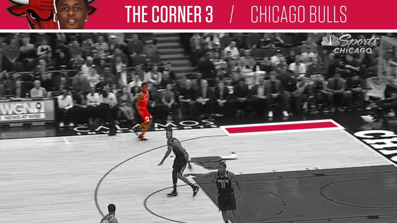 Bulls find value in corner 3-pointer.