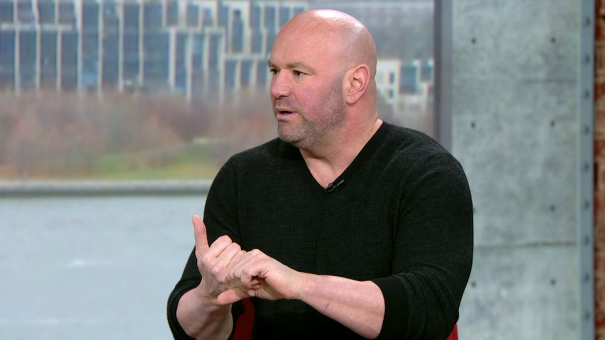 Dana White on De La Hoya: He's a liar and an idiot