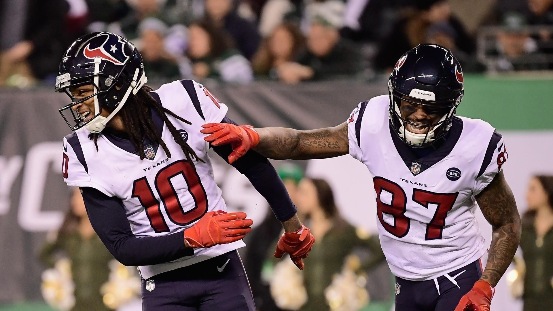 Hopkins comes up big in Texans' win over Jets