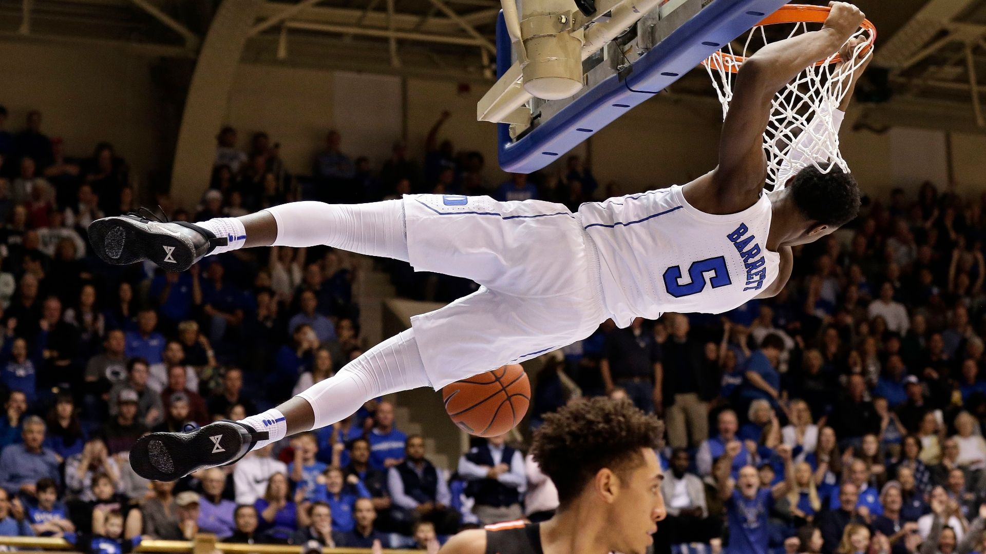 Williamson, Barrett lead Duke to huge win over Princeton
