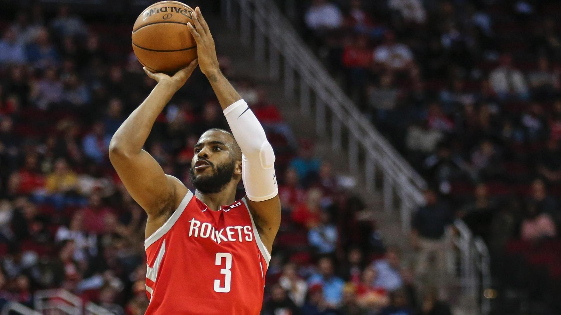 Rockets drain NBA record 26 3-pointers