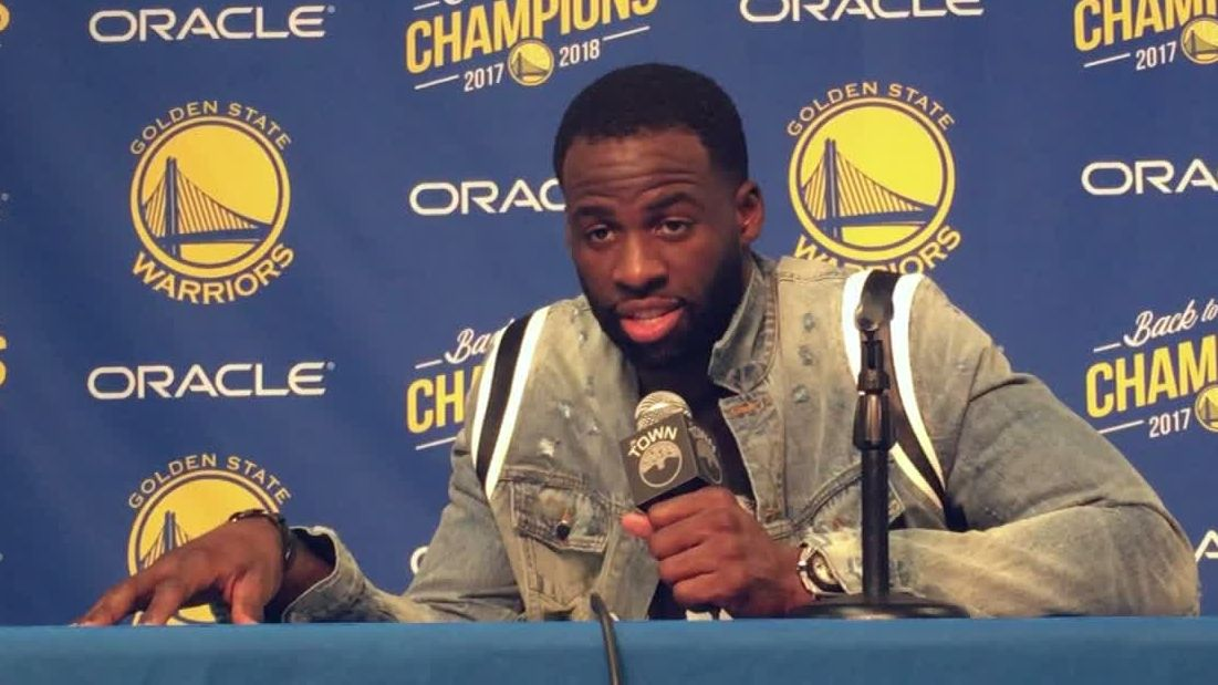 Draymond doesn't 'give a damn' about the uni LeBron is wearing