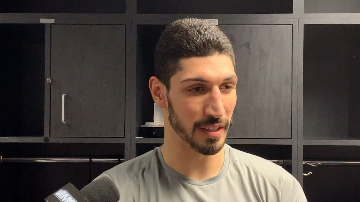 Kanter: 'It's pretty sad' that I can't go to London
