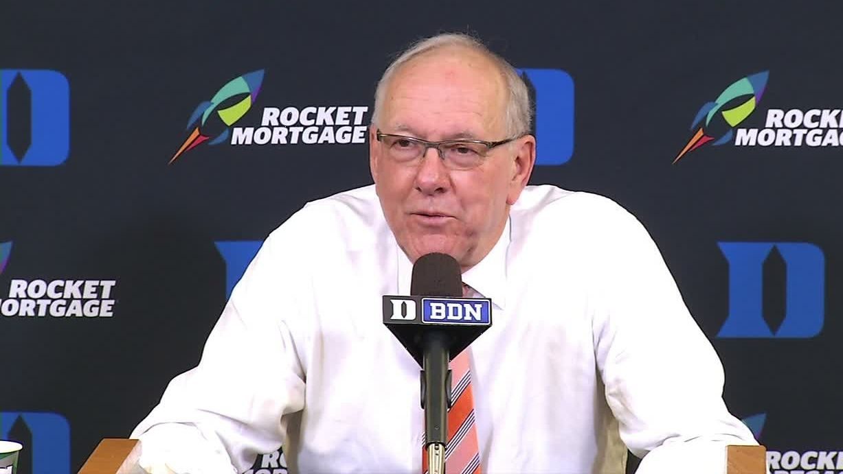 Boeheim: Zion is like Barkley, but not as fat