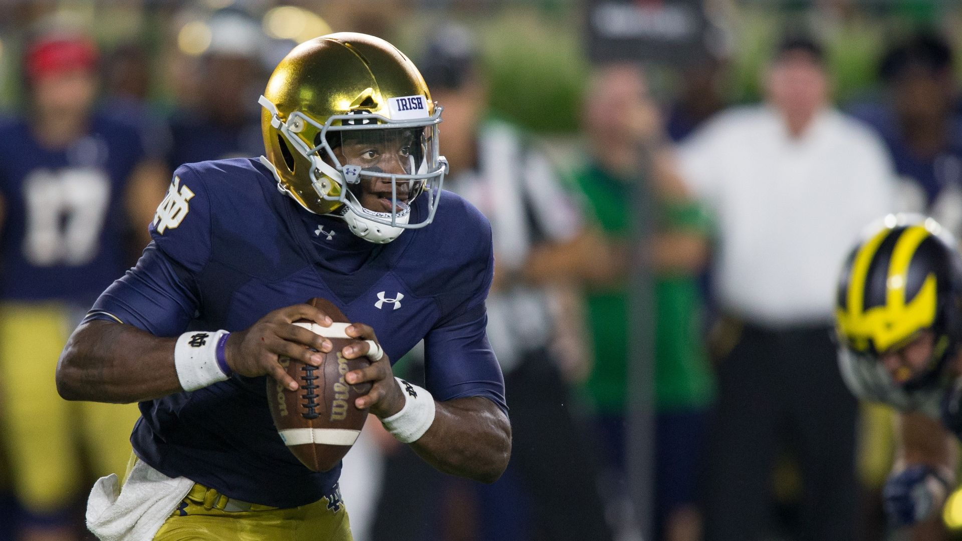 Former Notre Dame QB Wimbush joining UCF