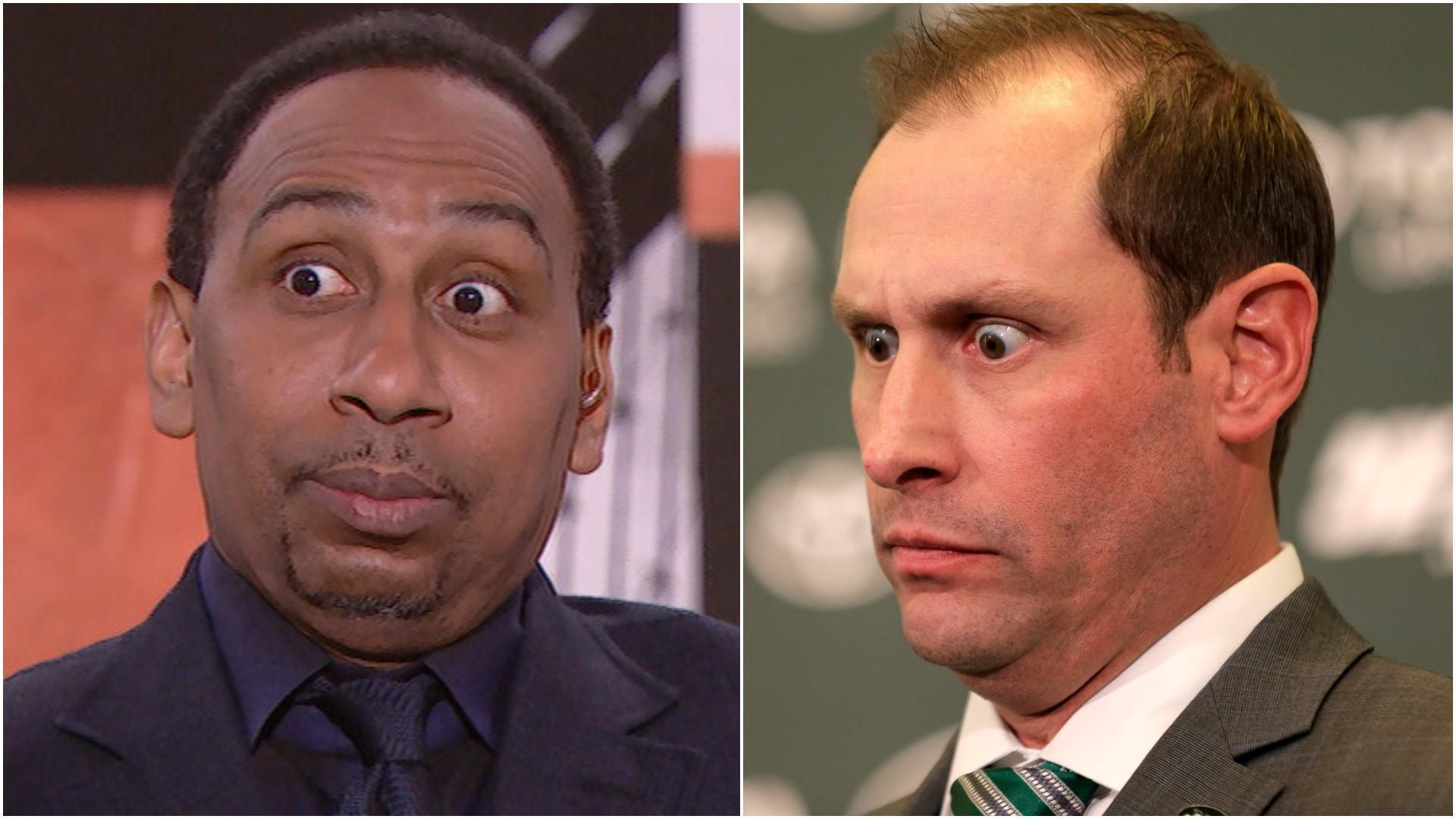 Stephen A. gets fired up over Gase's appearance