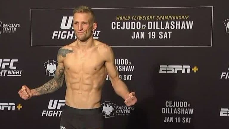 Dillashaw makes weight for UFC Fight Night: Brooklyn