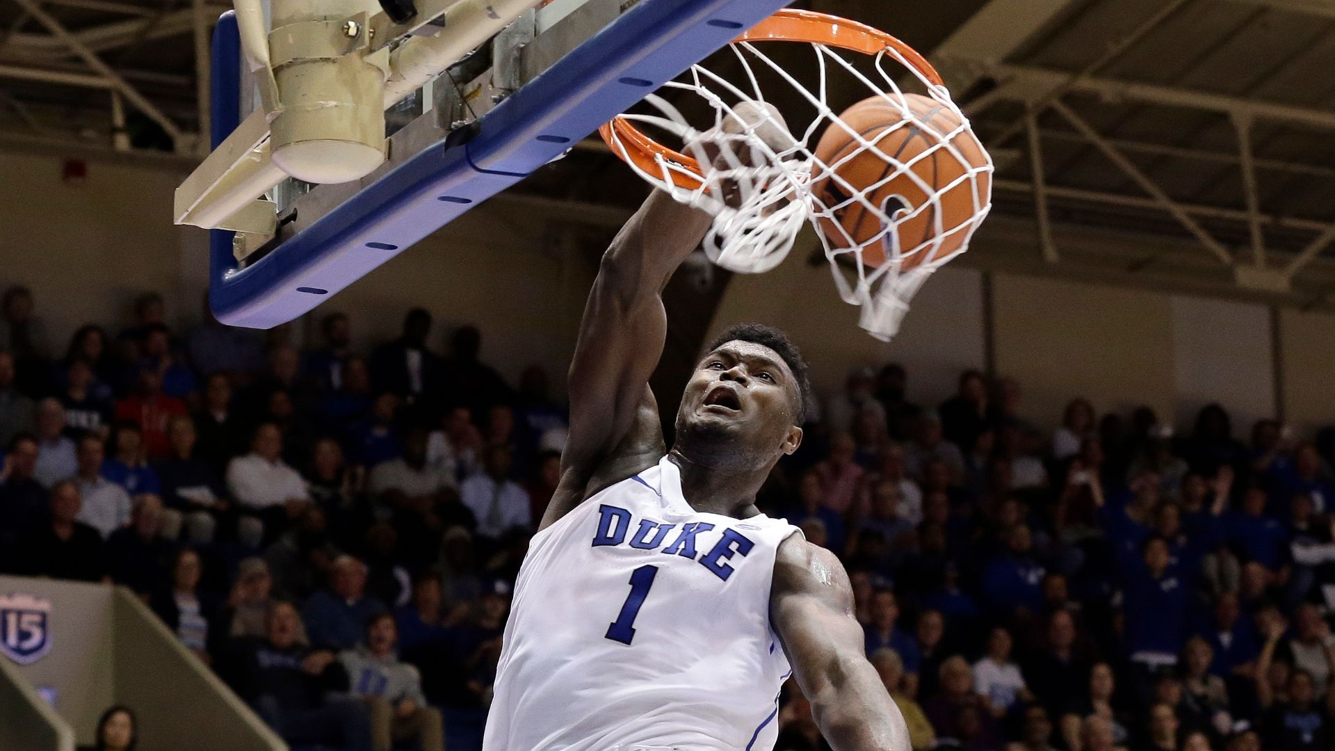 All of Zion's 34 dunks in a minute