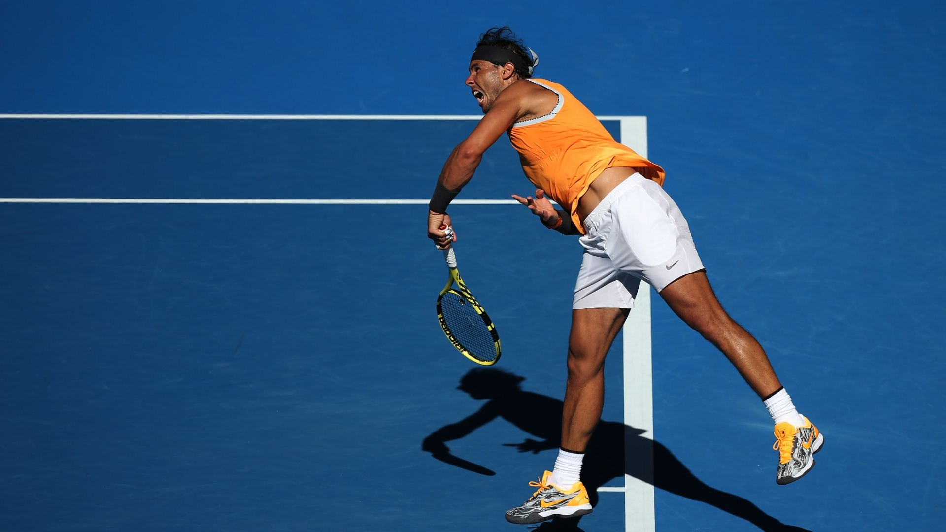 Nadal advances to his 11th quarterfinal at Aussie Open
