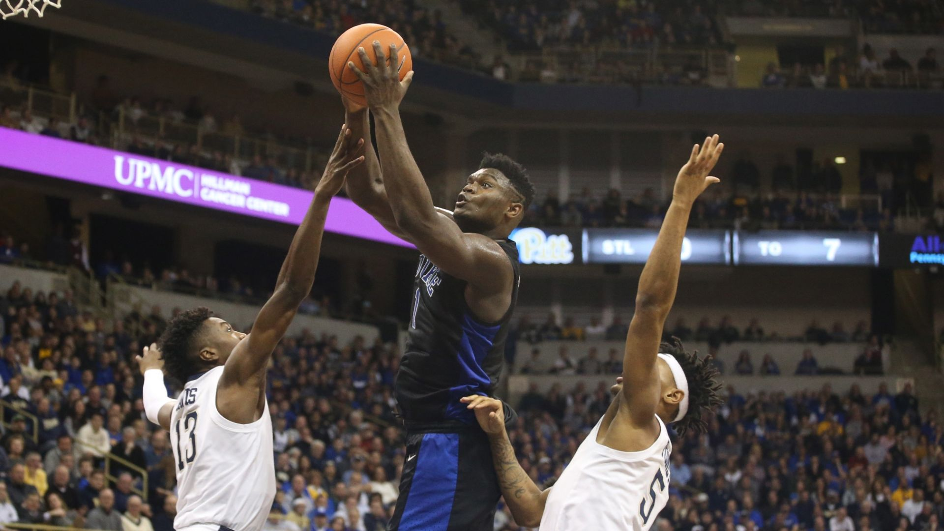 Zion uses big 1st half to propel Blue Devils