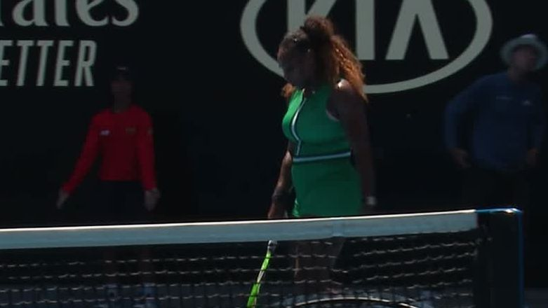 Serena rallies back to win second set