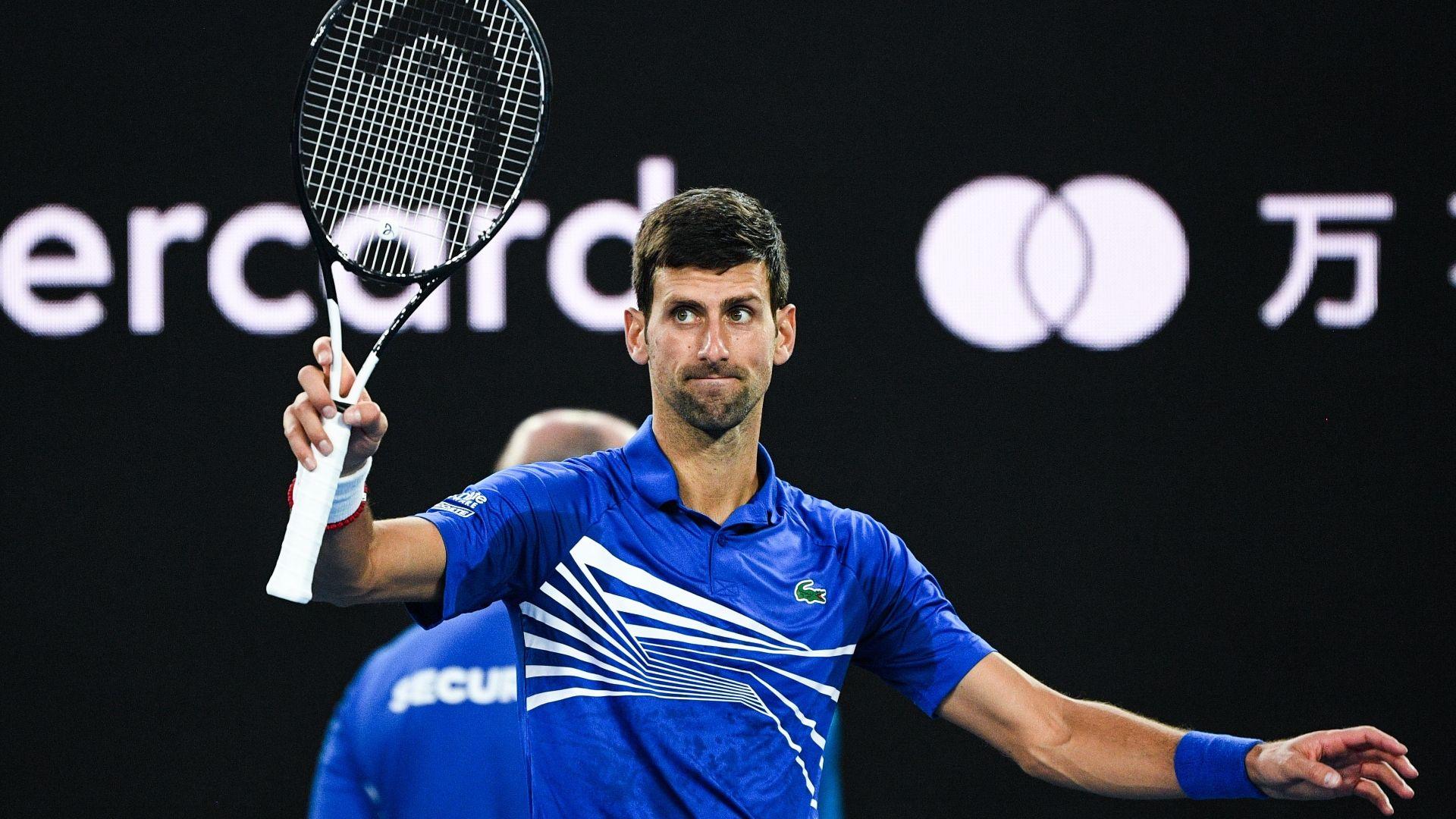 Djokovic advances after Nishikori retires with injury