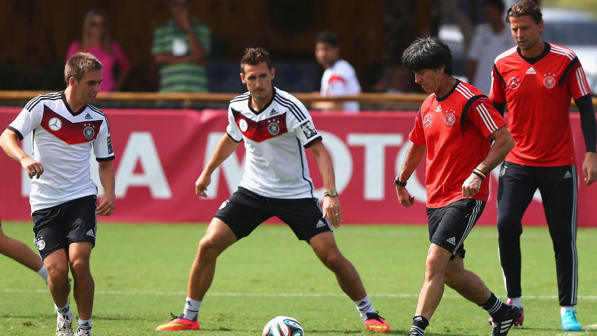 Germany set off for World Cup semifinal