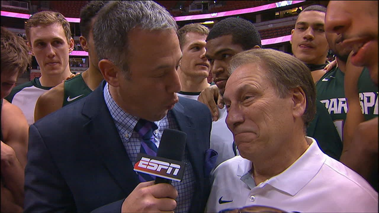 Michigan State Coach Tom Izzo Postgame Interview