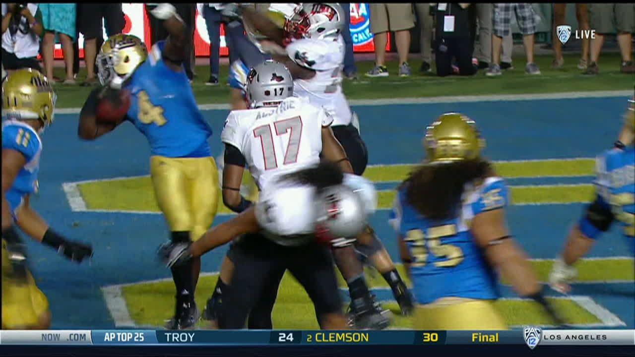 UCLA gains back the momentum with TD run