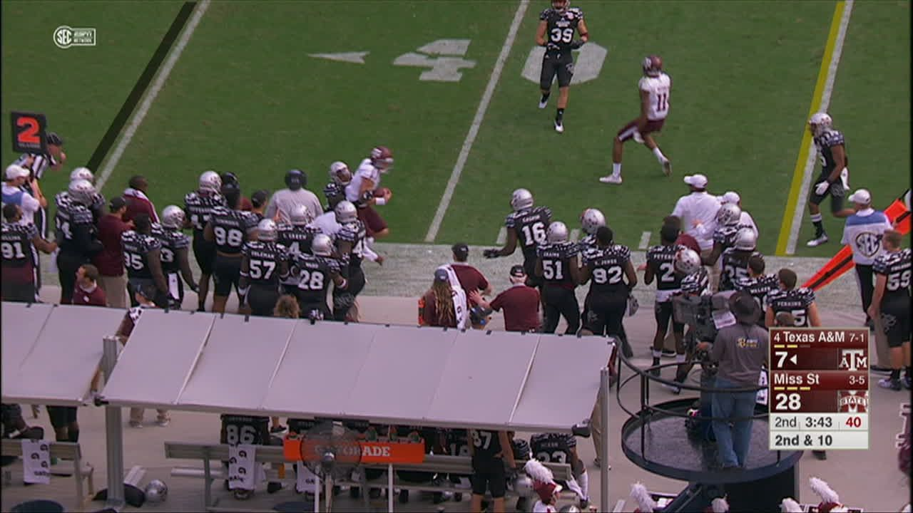 Knight goes down injured again for A&M