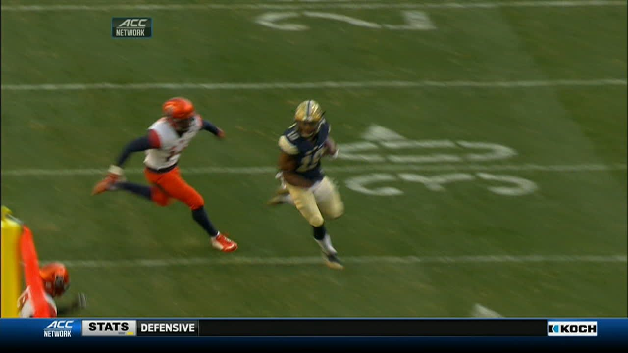 Pitt adds to score with 79-yard TD