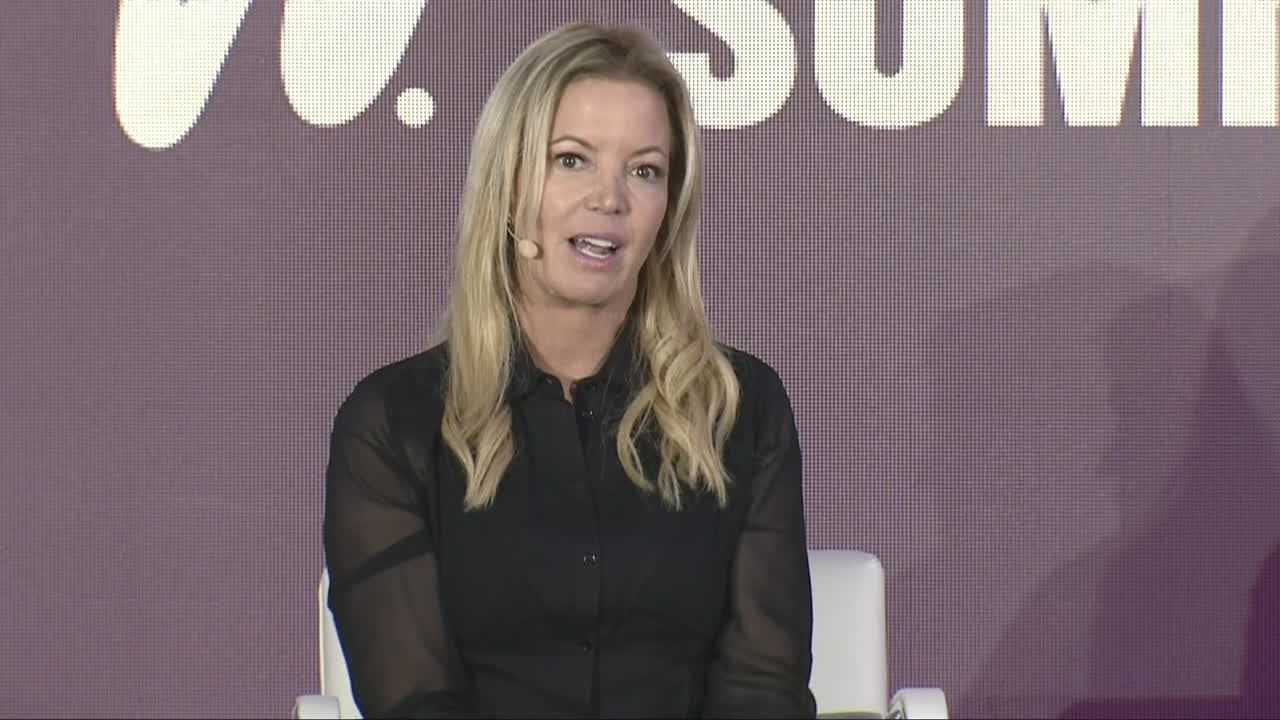 Jeanie Buss discusses highs and lows of taking over the Lakers