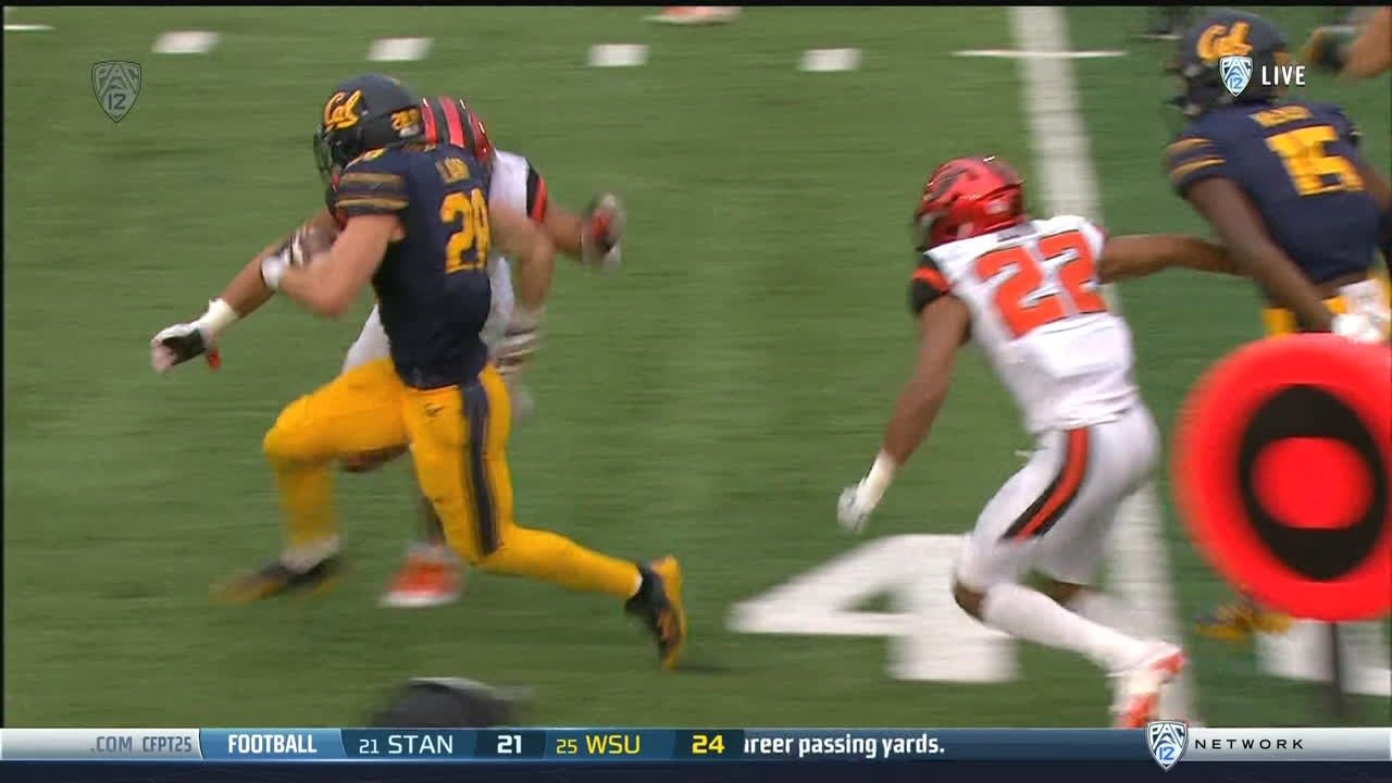 Big time run by Cal's Laird