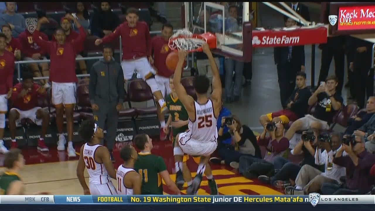 USC pulls away on Boatwright slam