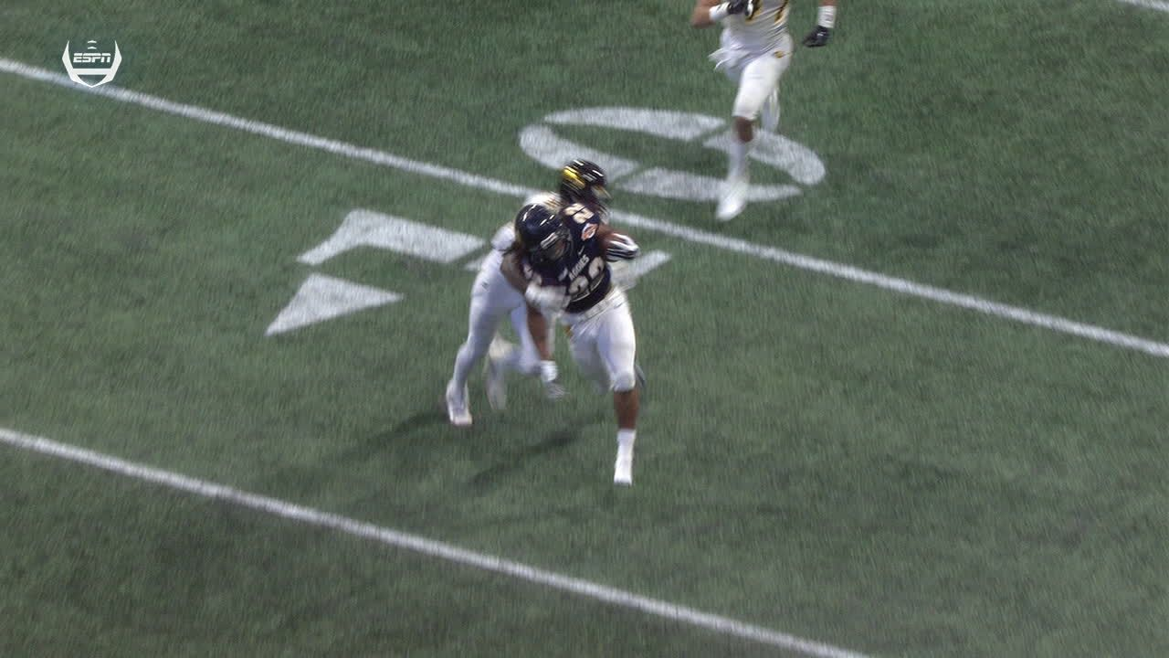 North Carolina A&T's Cartwright breaks off 29-yard TD