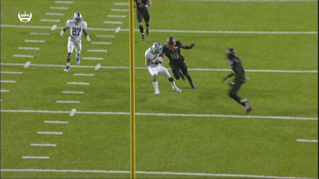 Unbelievable Middle Tennessee pick-6 ruled down